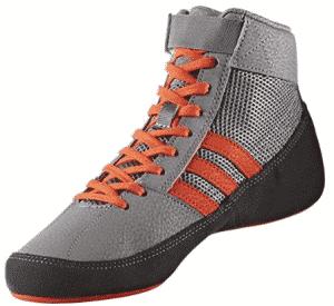 adidas Men's Boy's HVC2 Wrestling Mat Shoe Ankle Strap