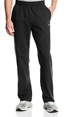 Champion Men's Open Bottom Light Weight Jersey pants