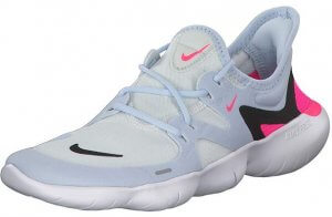 Nike Womens Free RN 5.0 Flexible Low Top Running Shoes