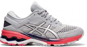 Asics Gel-Kayano 26 Women's Shoe for Flat Feet