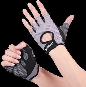 Fingerless parkour gloves
