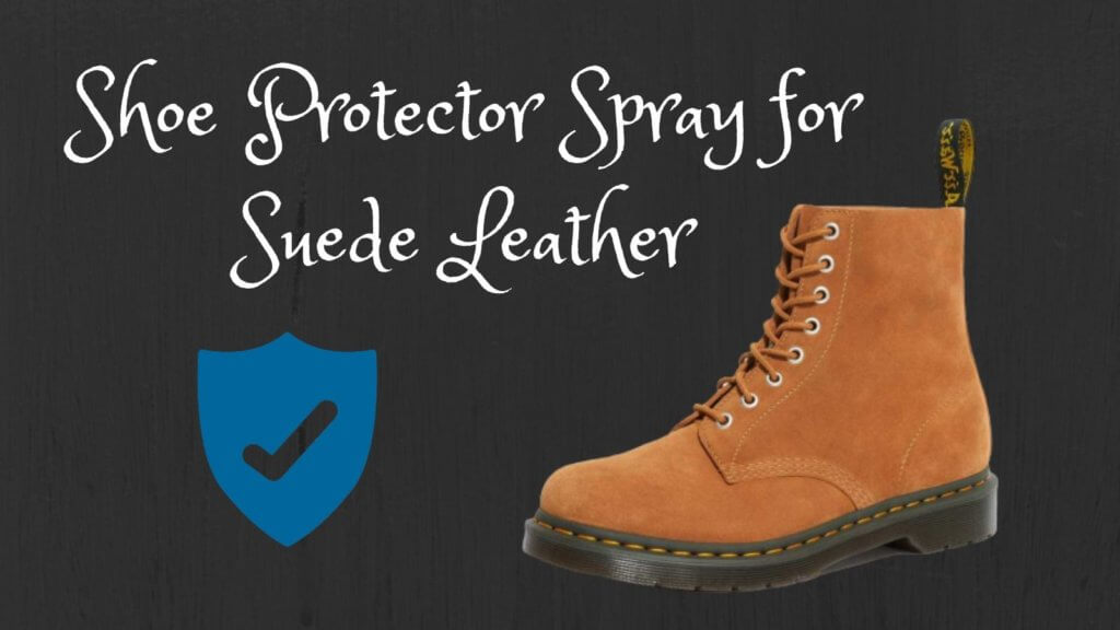 Shoe Protector Spray for Suede Leather